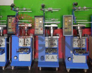 Mesin pengemas bahan serbuk